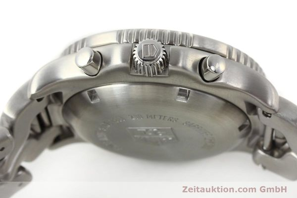 Used luxury watch Tag Heuer Link chronograph steel automatic Kal. ETA 7750 Ref. CT2111  | 141588 11