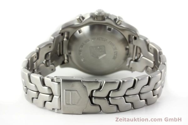 Used luxury watch Tag Heuer Link chronograph steel automatic Kal. ETA 7750 Ref. CT2111  | 141588 12