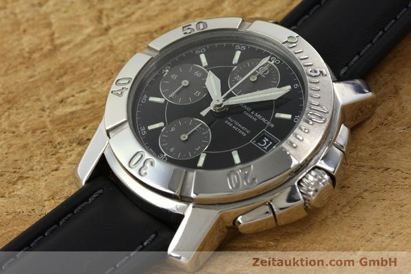 Used luxury watch Baume & Mercier Capeland chronograph steel automatic Kal. BM13750 ETA 7750 Ref. 65352  | 141594 01