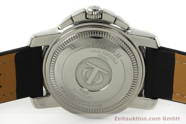 Used luxury watch Baume & Mercier Capeland chronograph steel automatic Kal. BM13750 ETA 7750 Ref. 65352  | 141594 08