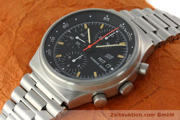 Used luxury watch Porsche Design * chronograph steel automatic Kal. VAL 7750  | 141596 01