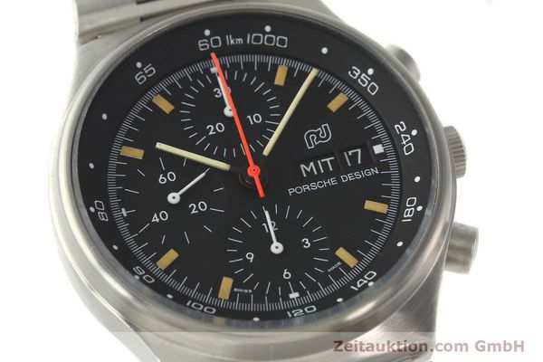 Used luxury watch Porsche Design * chronograph steel automatic Kal. VAL 7750  | 141596 02