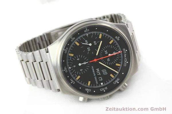 Used luxury watch Porsche Design * chronograph steel automatic Kal. VAL 7750  | 141596 03