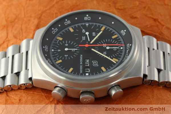 Used luxury watch Porsche Design * chronograph steel automatic Kal. VAL 7750  | 141596 05