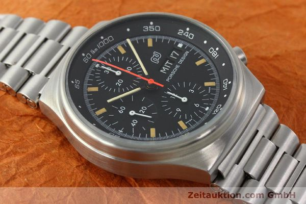 Used luxury watch Porsche Design * chronograph steel automatic Kal. VAL 7750  | 141596 14