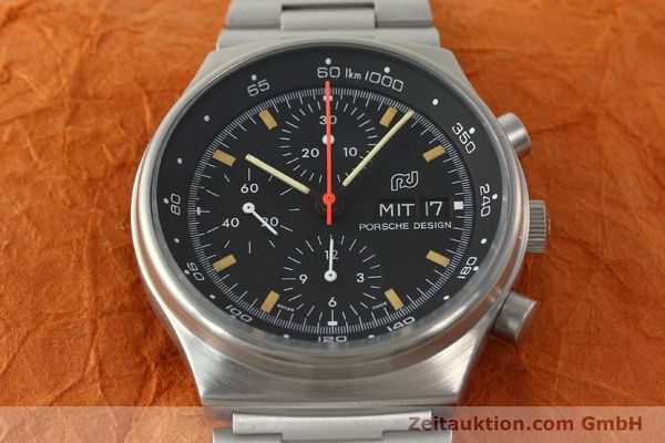 Used luxury watch Porsche Design * chronograph steel automatic Kal. VAL 7750  | 141596 15