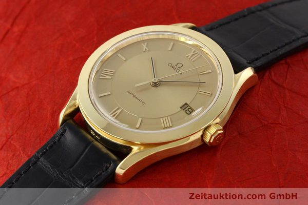 Used luxury watch Omega * 18 ct gold automatic Kal. 1110 ETA 2892-2  | 141597 01