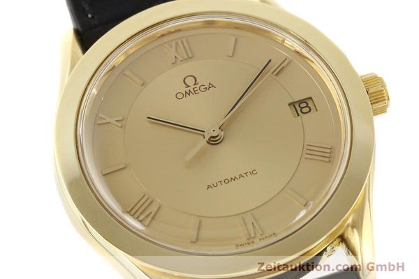 Used luxury watch Omega * 18 ct gold automatic Kal. 1110 ETA 2892-2  | 141597 02