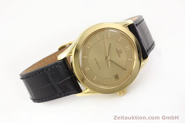 Used luxury watch Omega * 18 ct gold automatic Kal. 1110 ETA 2892-2  | 141597 03