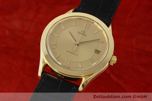 Used luxury watch Omega * 18 ct gold automatic Kal. 1110 ETA 2892-2  | 141597 04