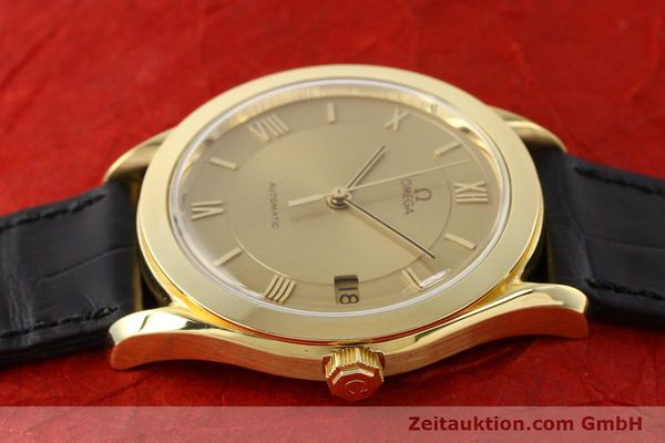 Used luxury watch Omega * 18 ct gold automatic Kal. 1110 ETA 2892-2  | 141597 05