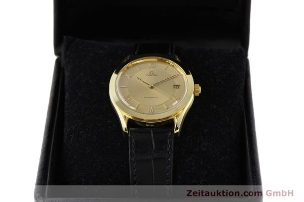 Used luxury watch Omega * 18 ct gold automatic Kal. 1110 ETA 2892-2  | 141597 07