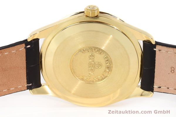 Used luxury watch Omega * 18 ct gold automatic Kal. 1110 ETA 2892-2  | 141597 08