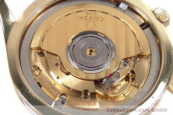 Used luxury watch Omega * 18 ct gold automatic Kal. 1110 ETA 2892-2  | 141597 10