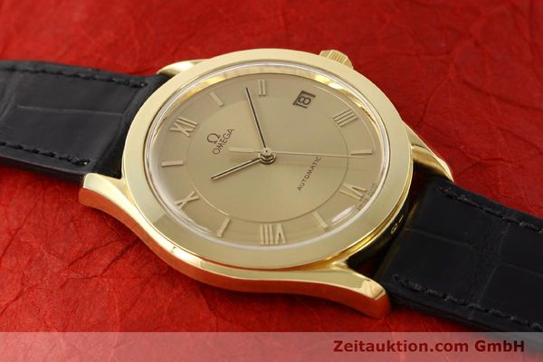 Used luxury watch Omega * 18 ct gold automatic Kal. 1110 ETA 2892-2  | 141597 14