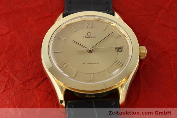 Used luxury watch Omega * 18 ct gold automatic Kal. 1110 ETA 2892-2  | 141597 15