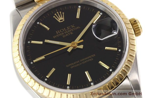 Used luxury watch Rolex Date steel / gold automatic Kal. 3135 Ref. 15223  | 141598 02