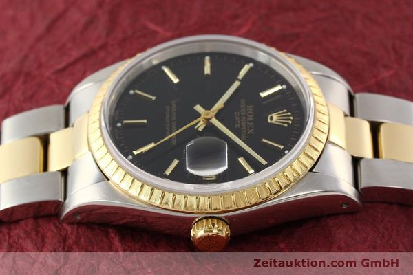 Used luxury watch Rolex Date steel / gold automatic Kal. 3135 Ref. 15223  | 141598 05