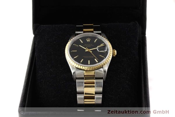 Used luxury watch Rolex Date steel / gold automatic Kal. 3135 Ref. 15223  | 141598 07