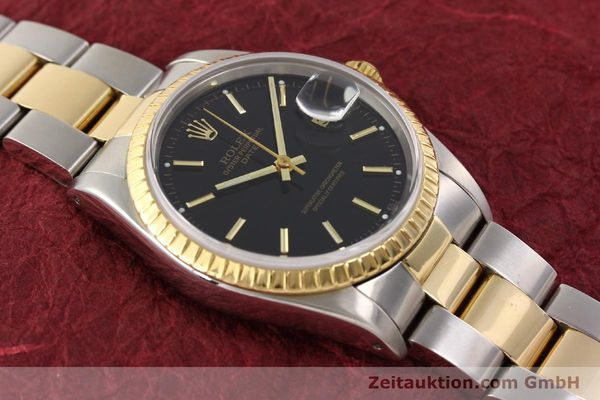 Used luxury watch Rolex Date steel / gold automatic Kal. 3135 Ref. 15223  | 141598 14