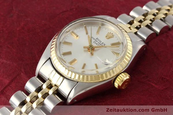 Used luxury watch Rolex Lady Date steel / gold automatic Kal. 2030 Ref. 6917  | 141602 01