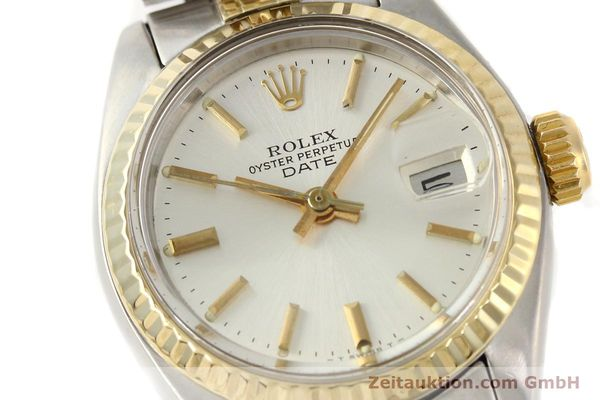 Used luxury watch Rolex Lady Date steel / gold automatic Kal. 2030 Ref. 6917  | 141602 02