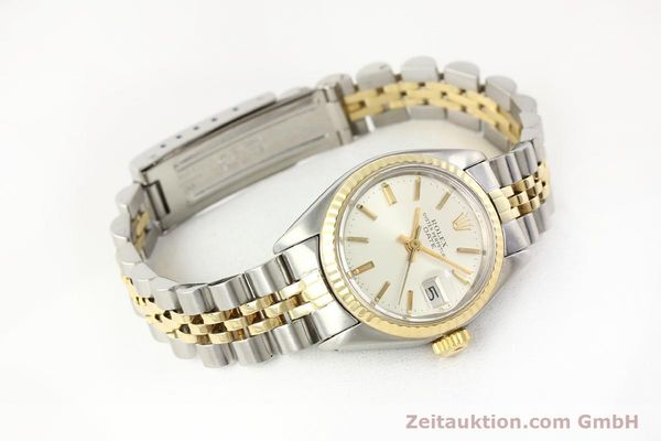Used luxury watch Rolex Lady Date steel / gold automatic Kal. 2030 Ref. 6917  | 141602 03