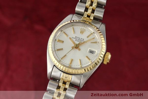 Used luxury watch Rolex Lady Date steel / gold automatic Kal. 2030 Ref. 6917  | 141602 04