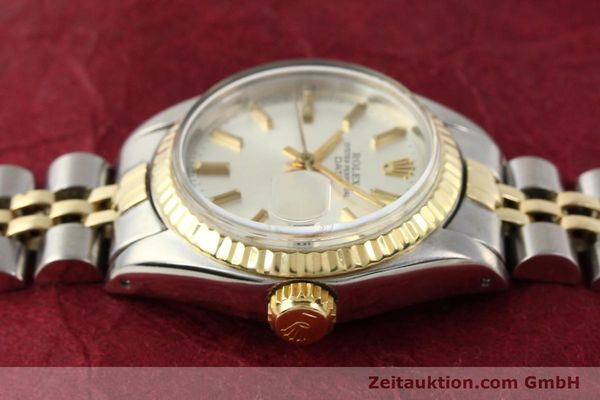 Used luxury watch Rolex Lady Date steel / gold automatic Kal. 2030 Ref. 6917  | 141602 05