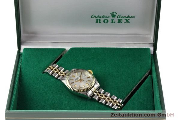 Used luxury watch Rolex Lady Date steel / gold automatic Kal. 2030 Ref. 6917  | 141602 07