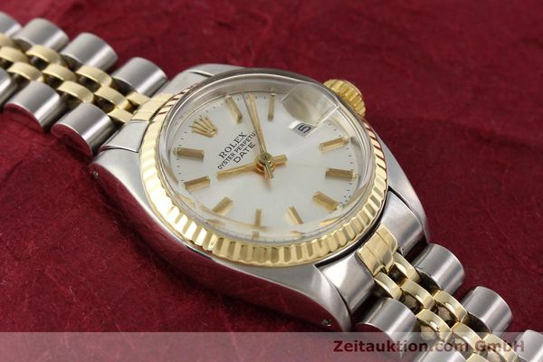 Used luxury watch Rolex Lady Date steel / gold automatic Kal. 2030 Ref. 6917  | 141602 15