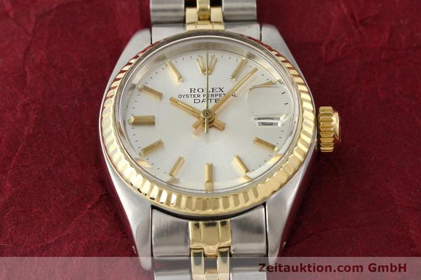 Used luxury watch Rolex Lady Date steel / gold automatic Kal. 2030 Ref. 6917  | 141602 16