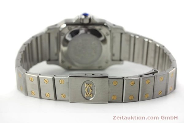Used luxury watch Cartier Santos steel / gold automatic Kal. ETA 2670  | 141604 10