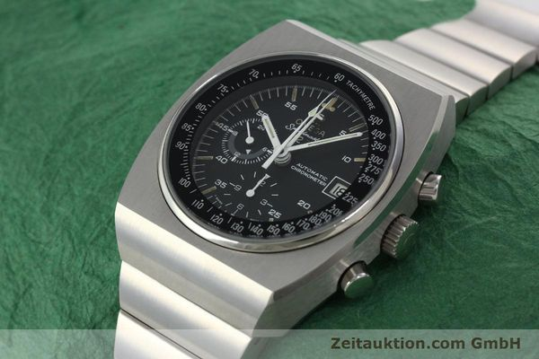 Used luxury watch Omega Speedmaster chronograph steel automatic Kal. 1041 Ref. 378.0801 / 178.0002  | 141605 01