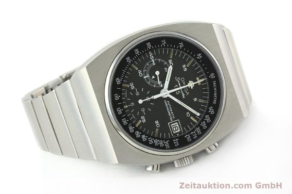 Used luxury watch Omega Speedmaster chronograph steel automatic Kal. 1041 Ref. 378.0801 / 178.0002  | 141605 03