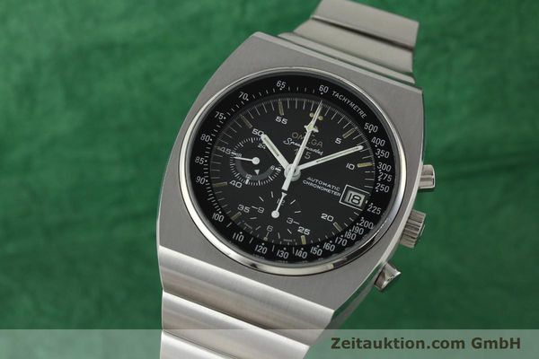 Used luxury watch Omega Speedmaster chronograph steel automatic Kal. 1041 Ref. 378.0801 / 178.0002  | 141605 04