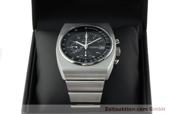 Used luxury watch Omega Speedmaster chronograph steel automatic Kal. 1041 Ref. 378.0801 / 178.0002  | 141605 07