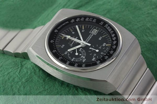 Used luxury watch Omega Speedmaster chronograph steel automatic Kal. 1041 Ref. 378.0801 / 178.0002  | 141605 14
