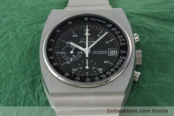 Used luxury watch Omega Speedmaster chronograph steel automatic Kal. 1041 Ref. 378.0801 / 178.0002  | 141605 15