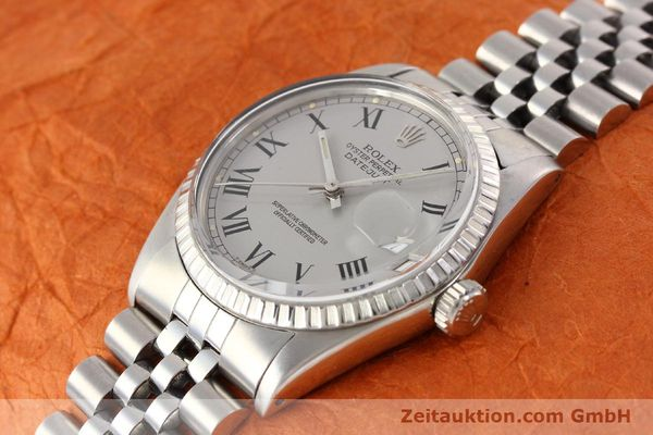 Used luxury watch Rolex Datejust steel automatic Kal. 3035 Ref. 16000  | 141606 01