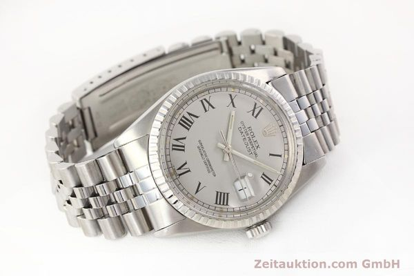 Used luxury watch Rolex Datejust steel automatic Kal. 3035 Ref. 16000  | 141606 03