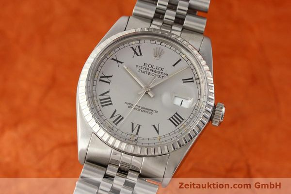 Used luxury watch Rolex Datejust steel automatic Kal. 3035 Ref. 16000  | 141606 04