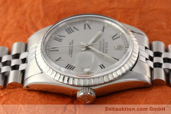 Used luxury watch Rolex Datejust steel automatic Kal. 3035 Ref. 16000  | 141606 05