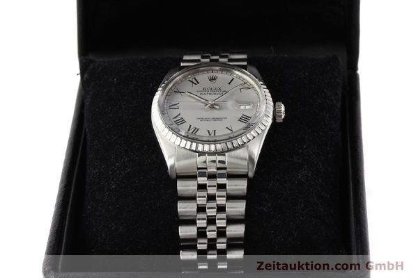 Used luxury watch Rolex Datejust steel automatic Kal. 3035 Ref. 16000  | 141606 07