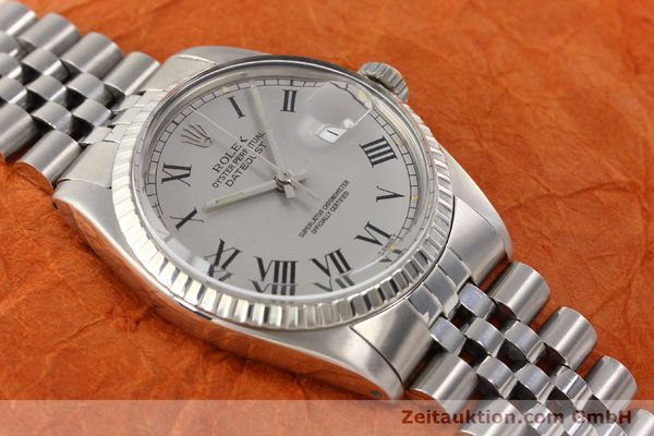 Used luxury watch Rolex Datejust steel automatic Kal. 3035 Ref. 16000  | 141606 15