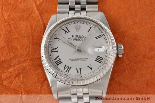 Used luxury watch Rolex Datejust steel automatic Kal. 3035 Ref. 16000  | 141606 16