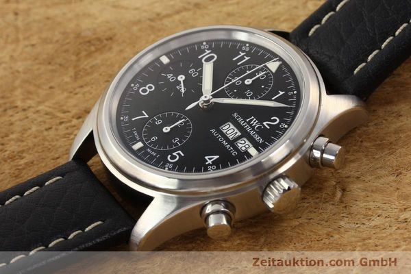 Used luxury watch IWC Fliegerchronograph chronograph steel automatic Kal. C.7912 Ref. 3706  | 141608 01