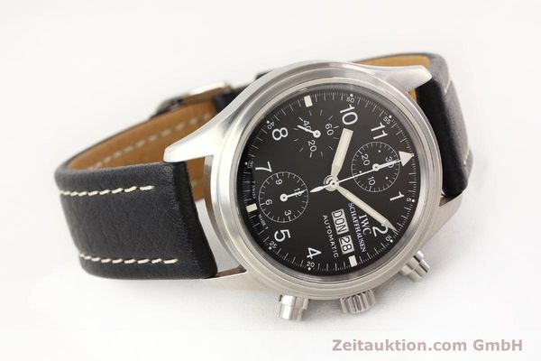Used luxury watch IWC Fliegerchronograph chronograph steel automatic Kal. C.7912 Ref. 3706  | 141608 03