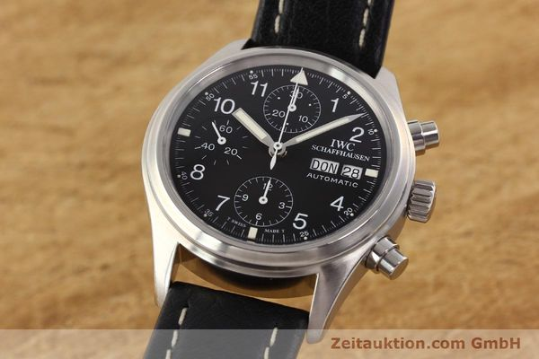 Used luxury watch IWC Fliegerchronograph chronograph steel automatic Kal. C.7912 Ref. 3706  | 141608 04