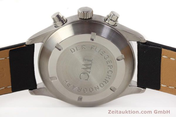 Used luxury watch IWC Fliegerchronograph chronograph steel automatic Kal. C.7912 Ref. 3706  | 141608 09